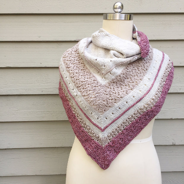 Sweet Clover Shawl Kit (Yarn Only)