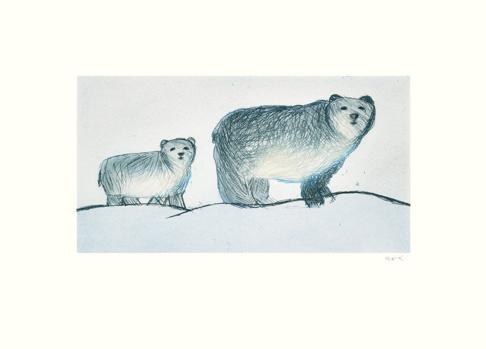 Roaming Bears, by Annie Parr