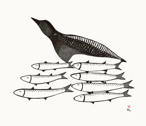 Loon and Char Cape Dorset Print