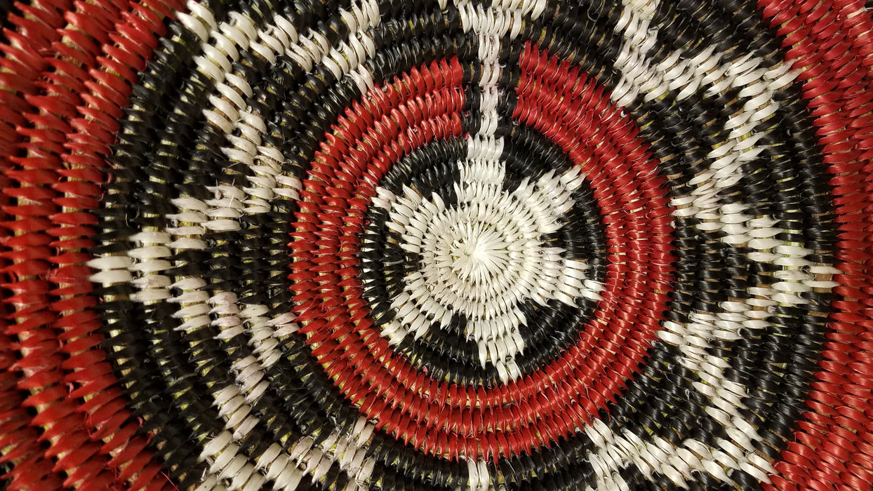 Navajo Basket, Double Ceremonial Design, by Peggy Black