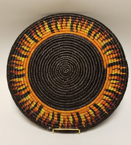 Eclipse Navajo Basket, By Elsie Holiday