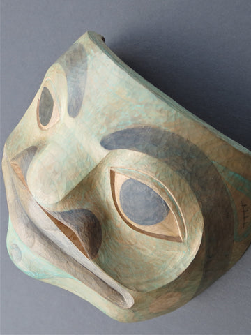 Frog Mask, by Kurt Lowrie