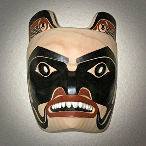 Bear Mask, by David Boxley, at Raven Makes Native American Art Gallery