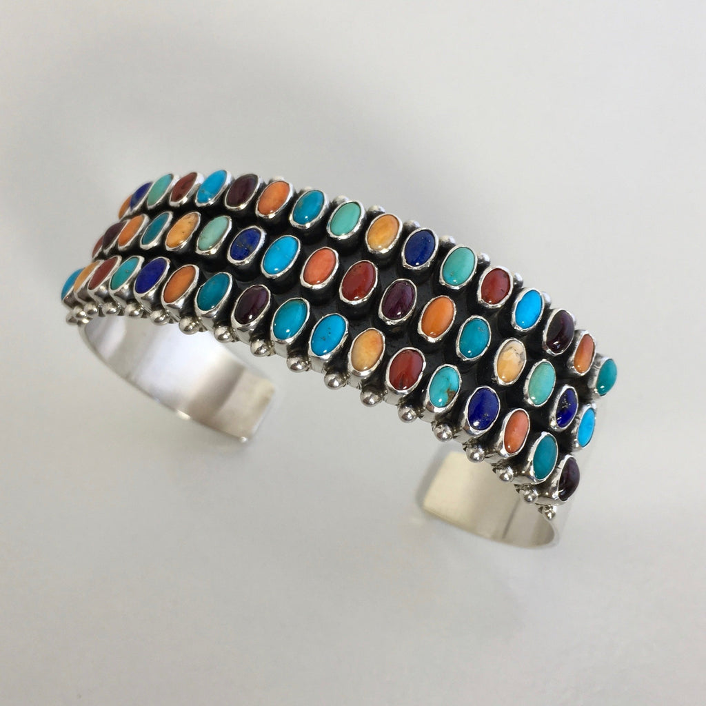 Navajo Cuff Bracelet, by Dee Nez, Navajo; see more of Dee's jewelry at Raven Makes Gallery