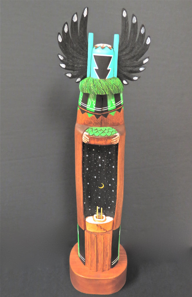 Hopi Kachina Crow Mother Doll, by Wilfred Kaye