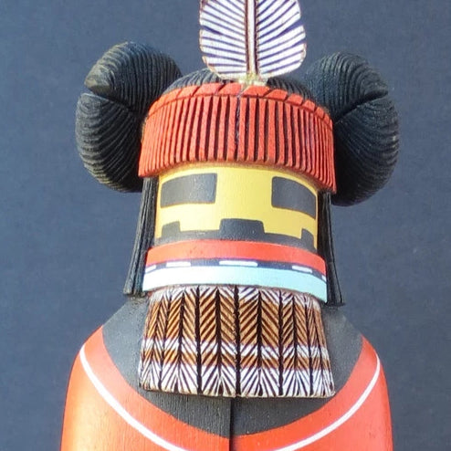 Hopi Kachin Mana Kachina Doll, by Wilfred Kaye
