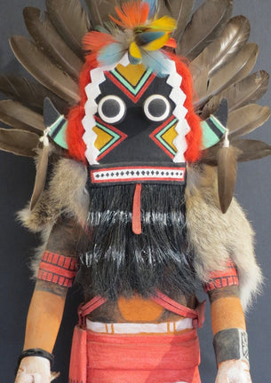Broad-Faced Kachina, Ray Naha, Jr.