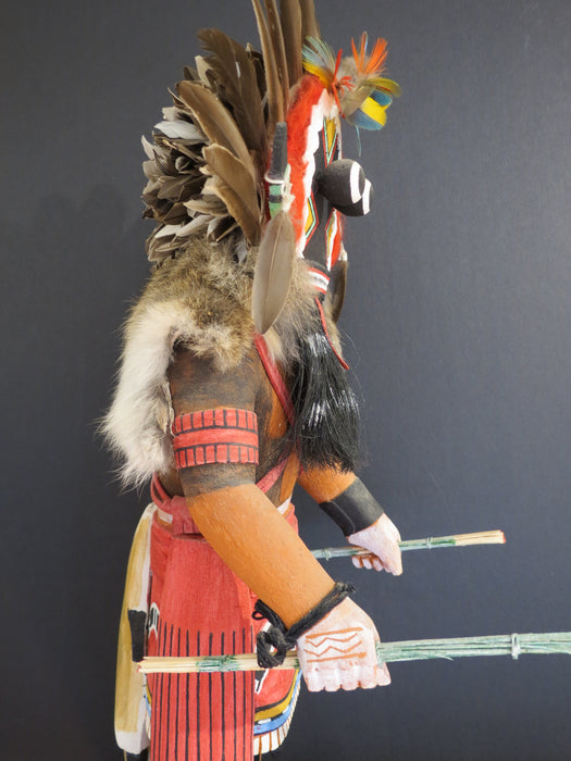 Broad-Faced Guardian Hopi Kachina, by Ray Naha Jr.