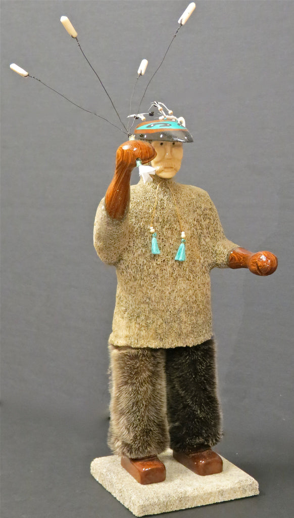 Aleut Hunting Doll, by Peter Lind, Jr.