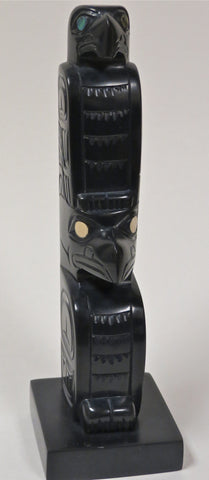 Argillite Carving, by Glenn Pollard