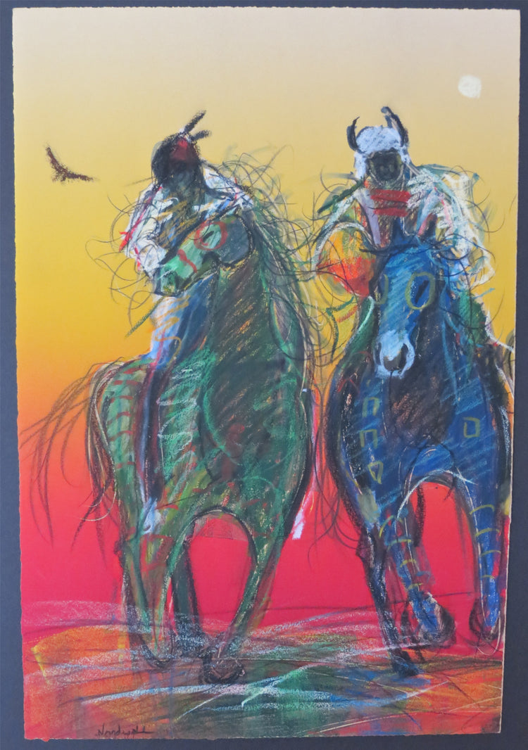 """Man and Horse,"" by Raymond Nordwall"