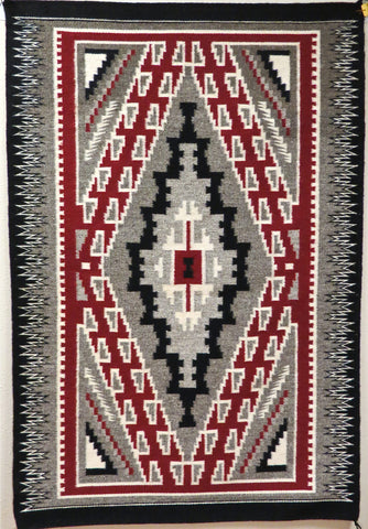 Klagetoh Navajo Rug, by Rosita Brown