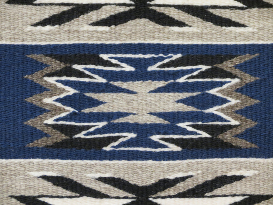 Storm Pattern Navajo Rug, by Gabrielle Chester