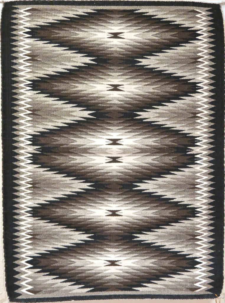 Eye Dazzler Navajo Rug, by Adrienne Chester