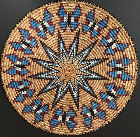 Navajo Basket, by Elsie Stone Holiday, at Raven Makes Gallery