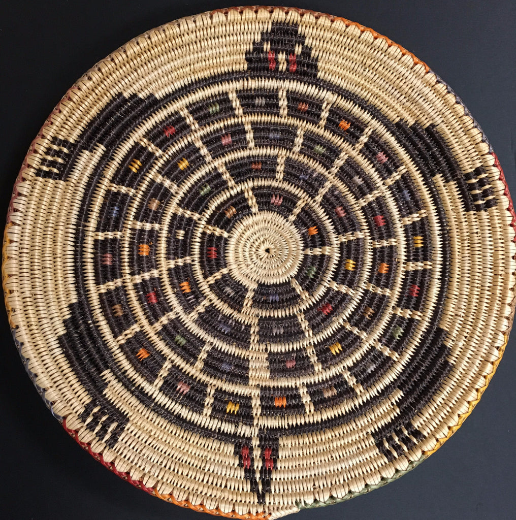 Turtle Navajo Basket, by Peggy Black