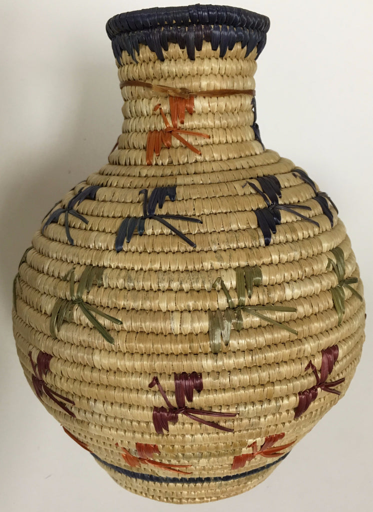 Yupik Basket, by Jeannie Paul