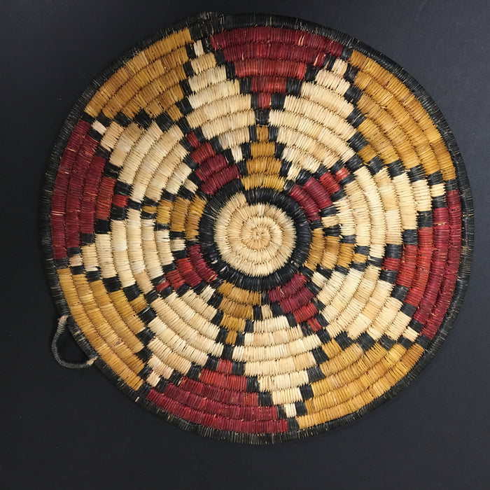 Eight Petals Hopi Basket