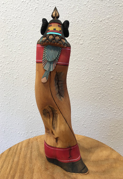 "Kachina Doll, ""Katsin Mana"", by Lee Sockyma"