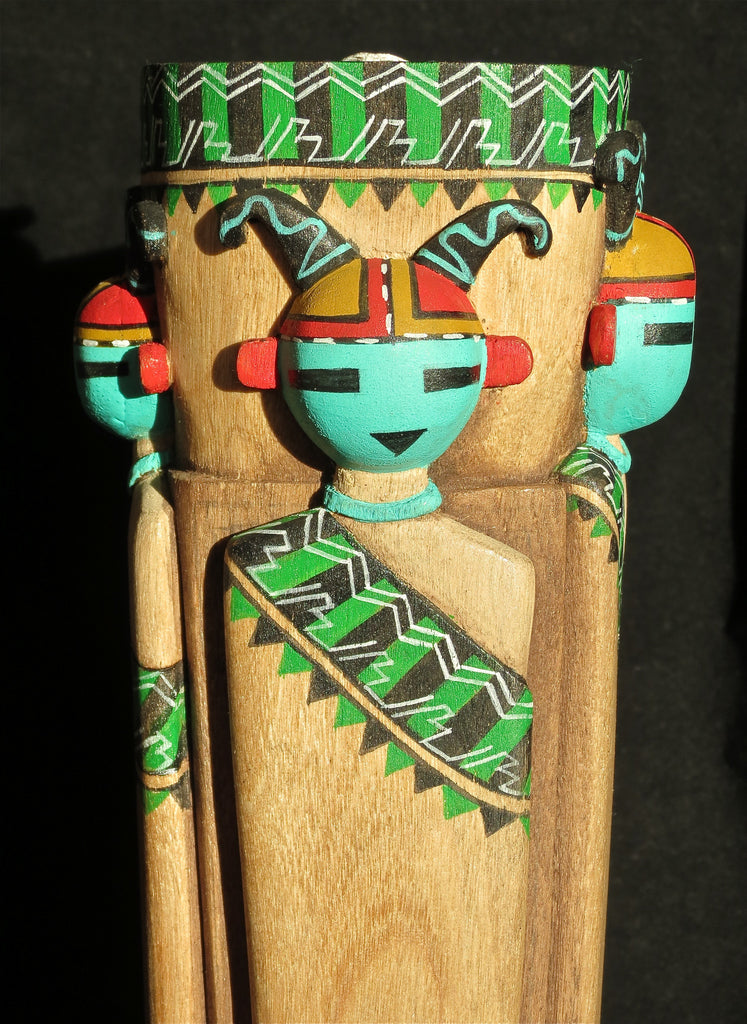Mother Corn and Children Kachina Doll,  by Wilmer Kaye