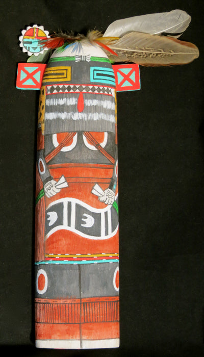 Hilili Guard Wall Doll Kachina, by Wilmer Kaye