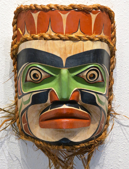 Pacific Northwest Coast Mask at Raven Makes Gallery