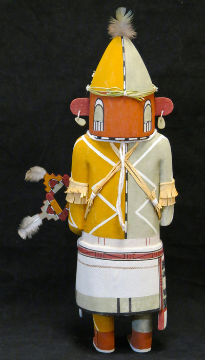 Sotuknangu Kachina Doll, by Lenno Polingyumptewa