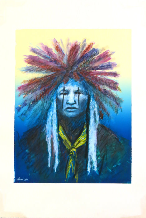 Native American Pastel, Raymond Nordwall