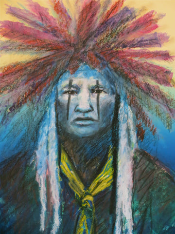 Headdress of Honor by Raymond Nordwall