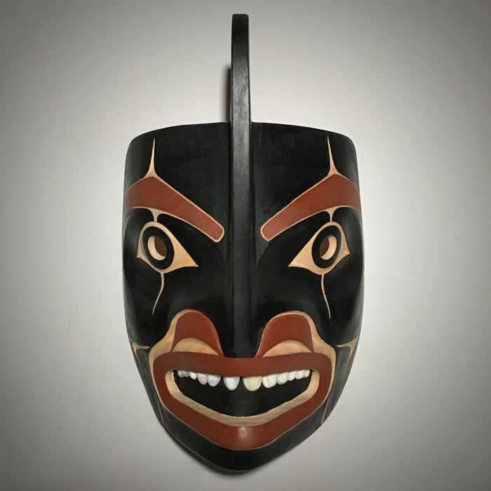 Orca (Killer Whale) Mask, by David A. Boxley