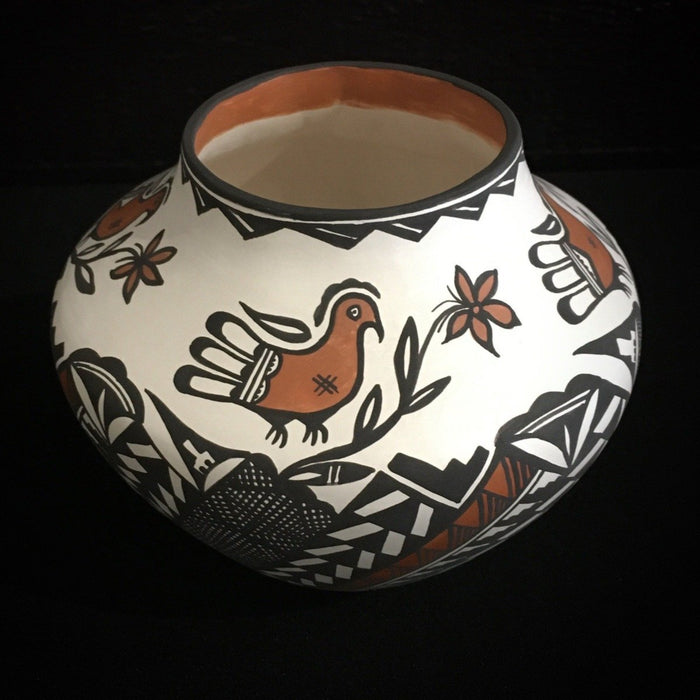 Pottery Acoma by Sandra Victorino at Raven Makes Gallery