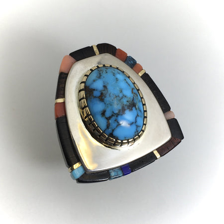 Sonwai Hopi Jewelry, Verma Nequatewa Jewelry at Raven Makes Gallery