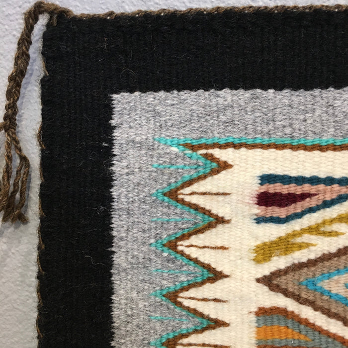 Teec Nos Pos Navajo Rug with Rich Colors, by Darlene Littleben
