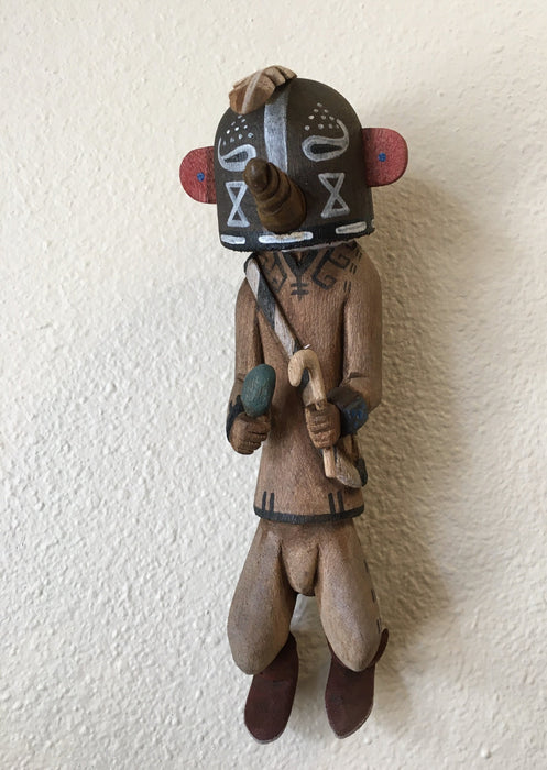 Kokopelli Kachina Doll by Clinton Kaye, Hopi