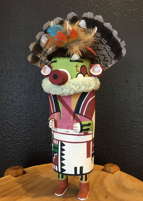 Hopi Kachina Doll, Native Art at Raven Makes Gallery