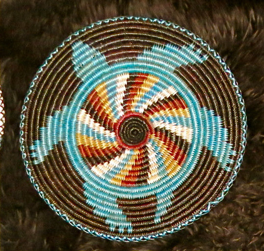 Sea Turtle Navajo Basket, by Elsie Holiday