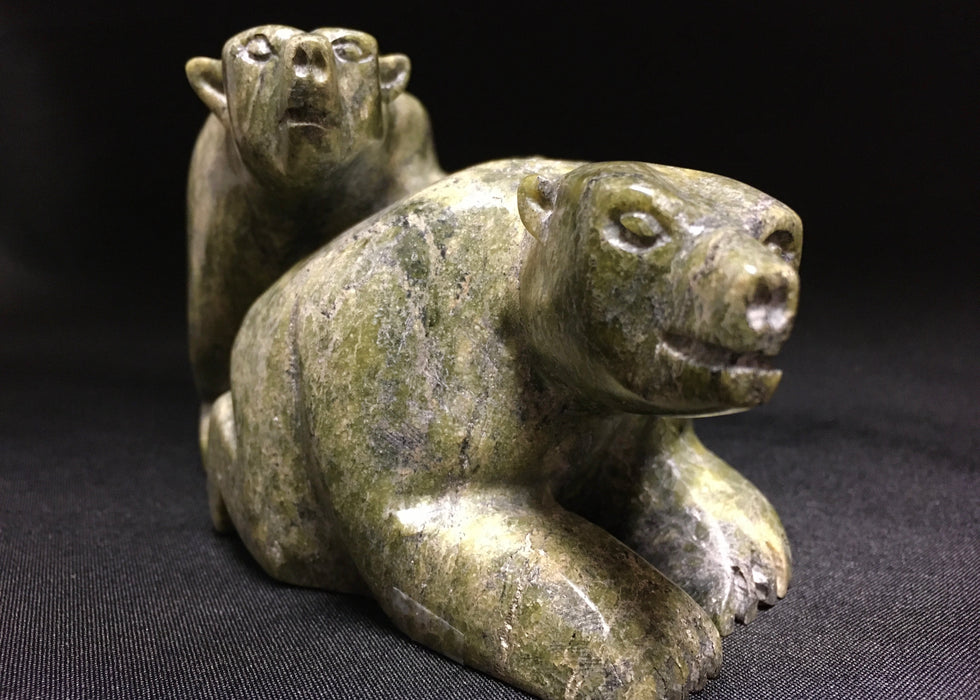Inuit Carvings, Cape Dorset Carvings at Raven Makes Gallery