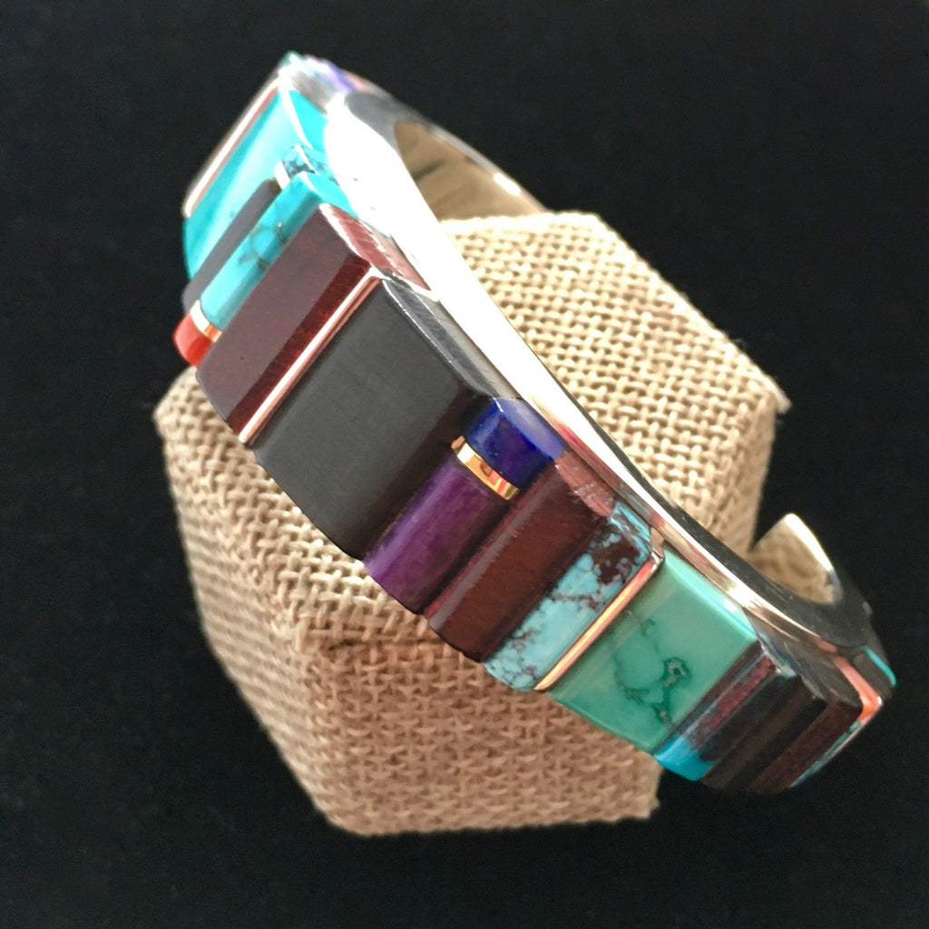 Channel Inlay Bracelet, by Sonwai