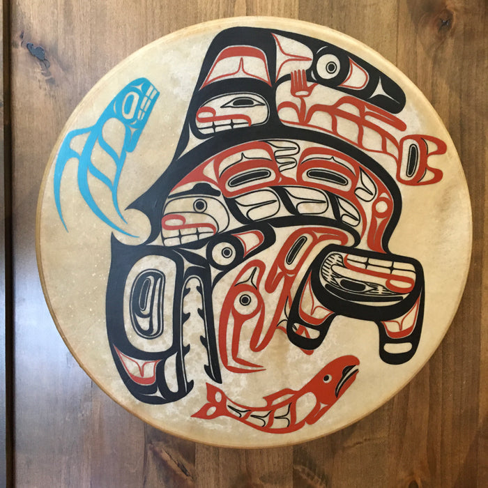 Killer Whale Drum, by David A. Boxley