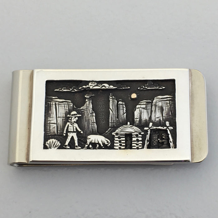 Homestead Scene Money Clip, by Cody Hunter