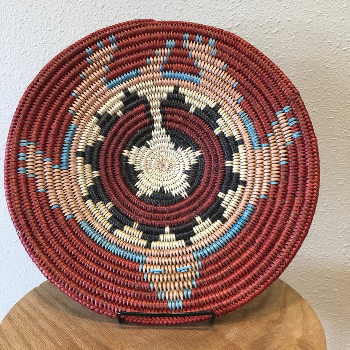 Navajo Turtle Basket, By Elsie Holiday
