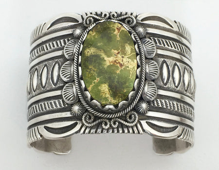 Pilot Mountain Bracelet, by Erick Begay