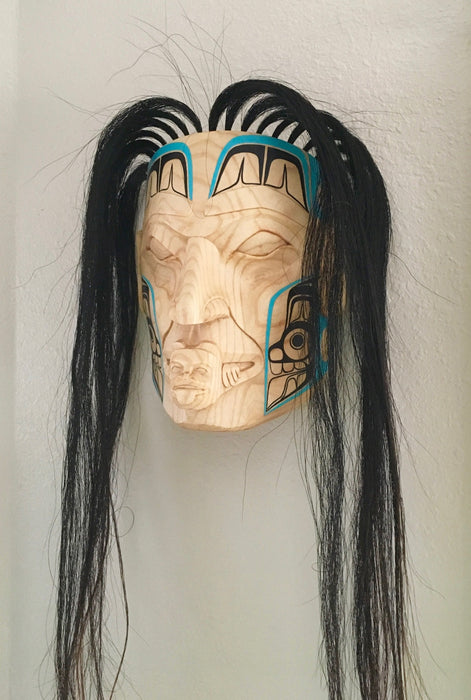A Voice for the Bears Mask, Coastal Peoples Masks, Masks at Raven Makes Gallery