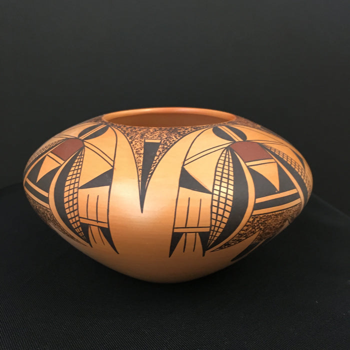Hopi Polychrome Pot, by Garret Maho