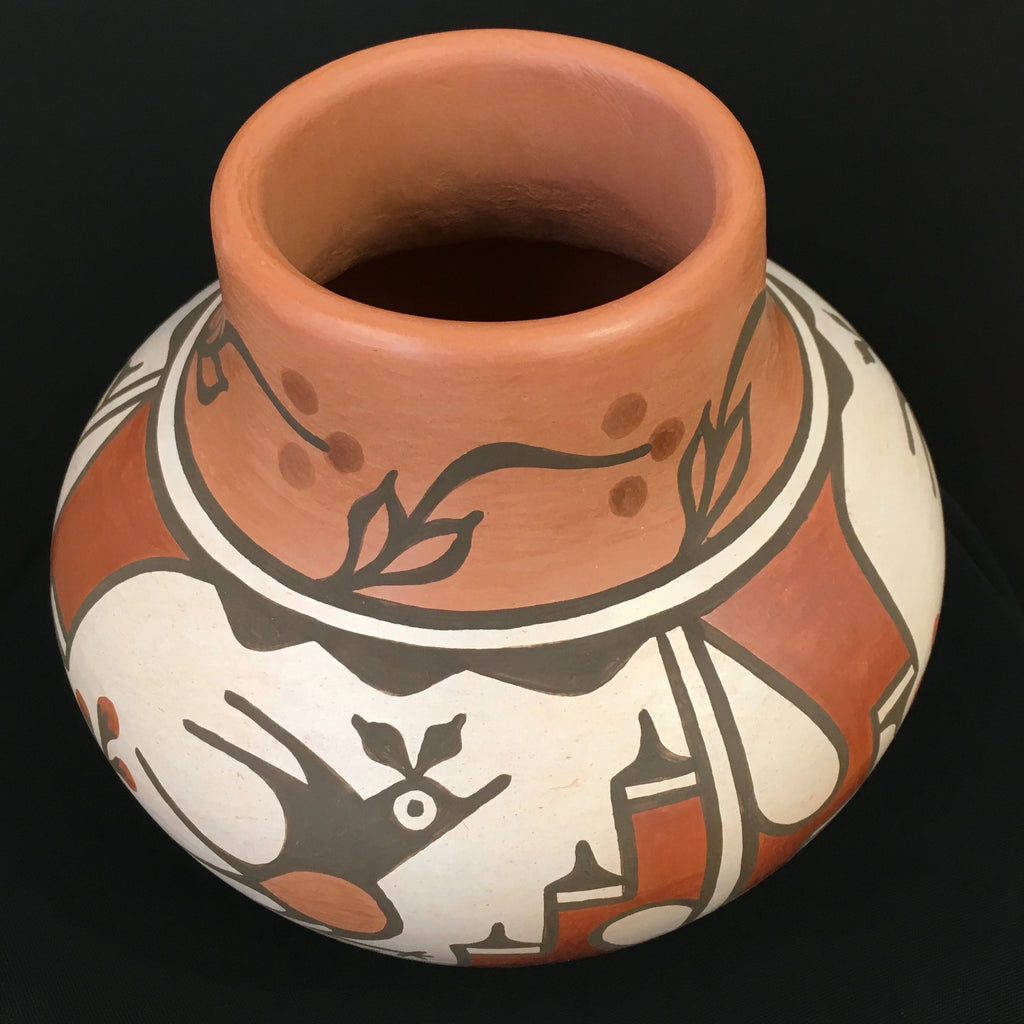 Zia Polychrome Pottery Jar, by Ruby Panana