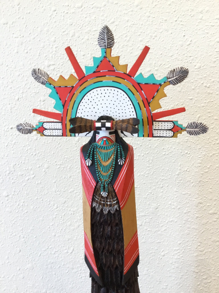 Shalako Kachina Doll, by Wilfred Kaye, Hopi Carver