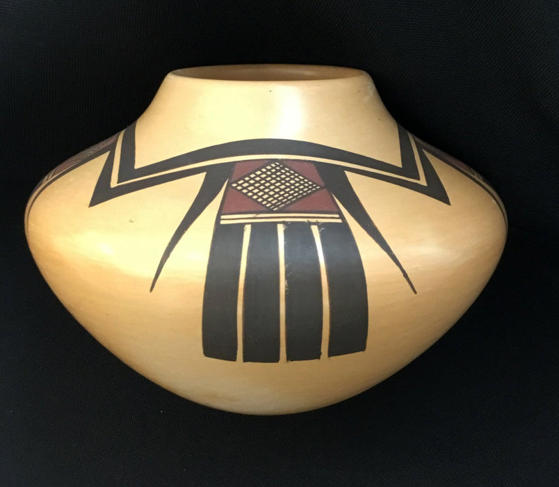 Hopi Polychrome Pottery Jar, by Fawn Navasie