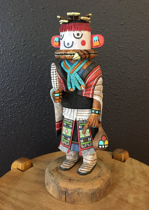 Grandmother Kachina at Raven Makes Gallery