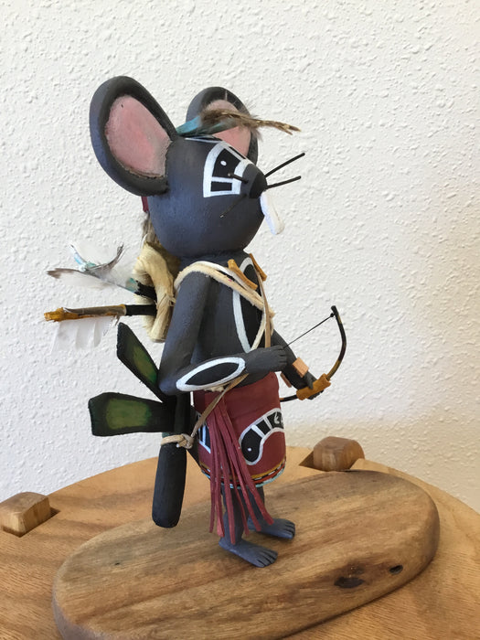 Mouse Warrior Sculpture, by Wilfred Kaye