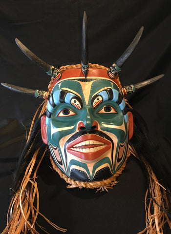 Pacific Coast Style Shaman Mask